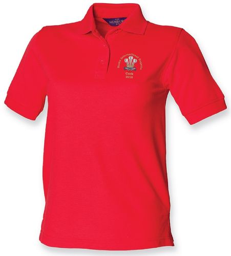 Wales HIR 2018 Women's Polo Shirt