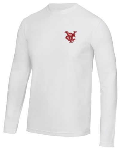 Vesta RC Men's White Long Sleeved Cool T