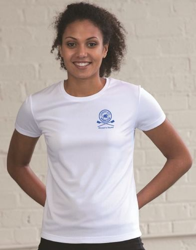Cardiff City RC Women's Squad White Tech-T
