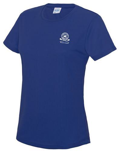 Cardiff City RC Women's Squad Blue Tech-T