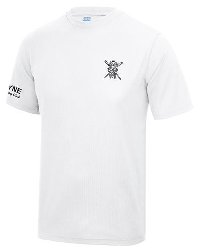 Tyne ARC Men's White Tech T-Shirt