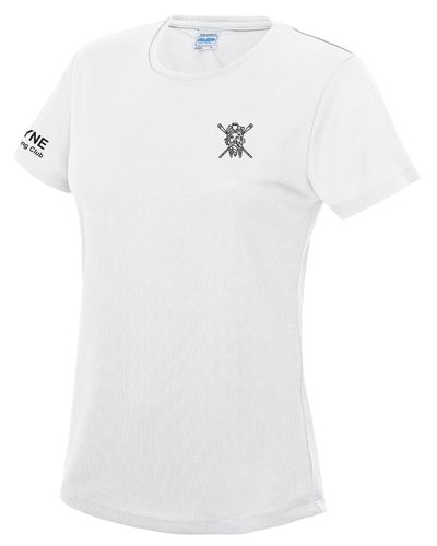 Tyne ARC Women's White Tech T
