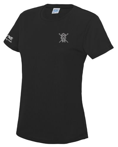 Tyne ARC Women's Black Tech T