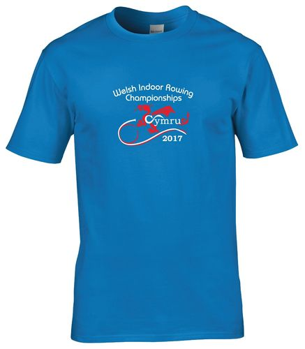 Welsh Indoor Rowing T-Shirt 2017