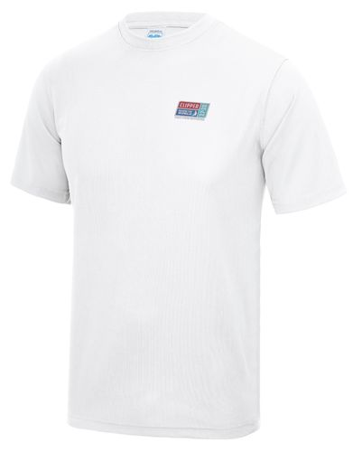 Visit Seattle Clipper 17-18 Child's White Tech T