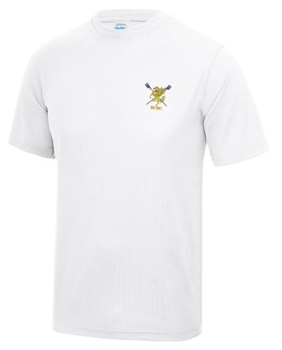 RCBC Men's White Tech T-Shirt