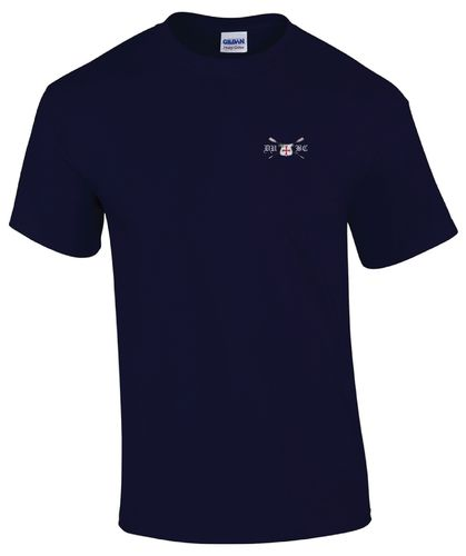 DUBC Men's Navy Blue T-Shirt