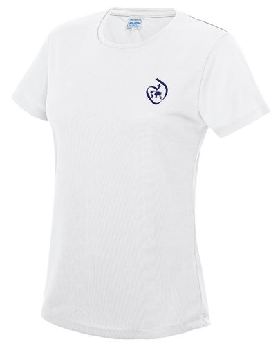 Sacred Heart Women's White Tech T