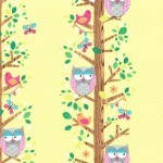 Owl Trees yellow