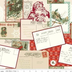 Postcards to Santa from Riley Blake