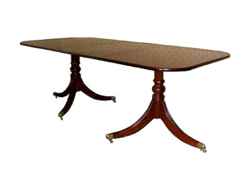 Single Leaf Solid Mahogany Regency Table
