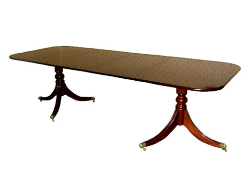 Double Leaf Solid Mahogany Regency Table