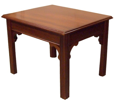 Chippendale Lamp Table - Solid Mahogany