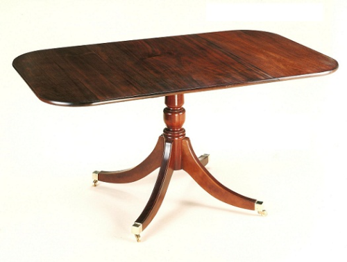 Regency Pembroke Table - Solid Mahogany