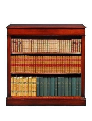 Small Traditional Bookcase - Solid Mahogany