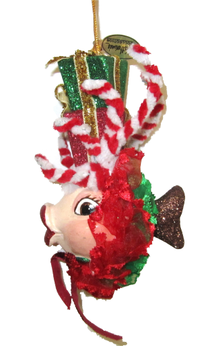 Xmas Kiss Fish: Candy Cane