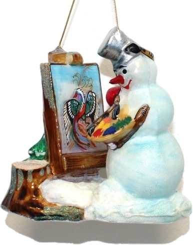 Painting Snowman