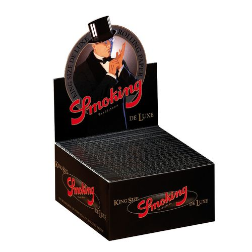 Smoking Papers King Size De Luxe Schwarz 50er Box