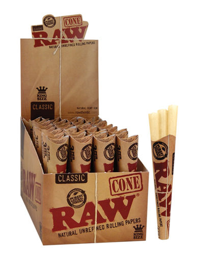 RAW Classic Cones King Size 32er Box