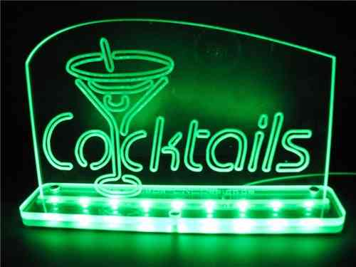 "LED Display ""Cocktail"""
