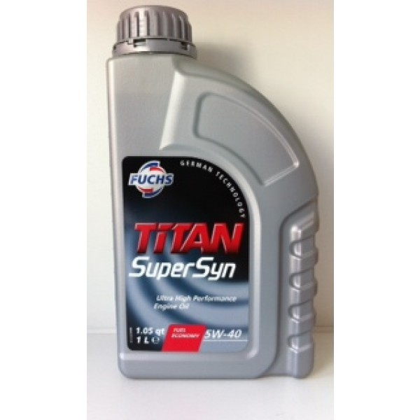 FUCHS TITAN SuperSyn SAE 5W-40 - 1 Liter