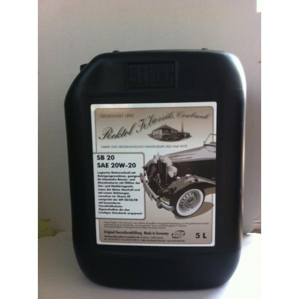 REKTOL SB SAE 20W-20  - 5 Liter