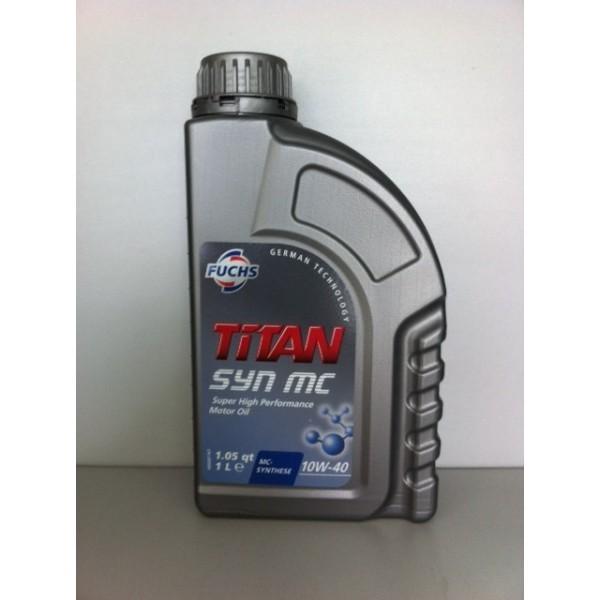 FUCHS TITAN SYN MC SAE 10W-40 - 1 Liter