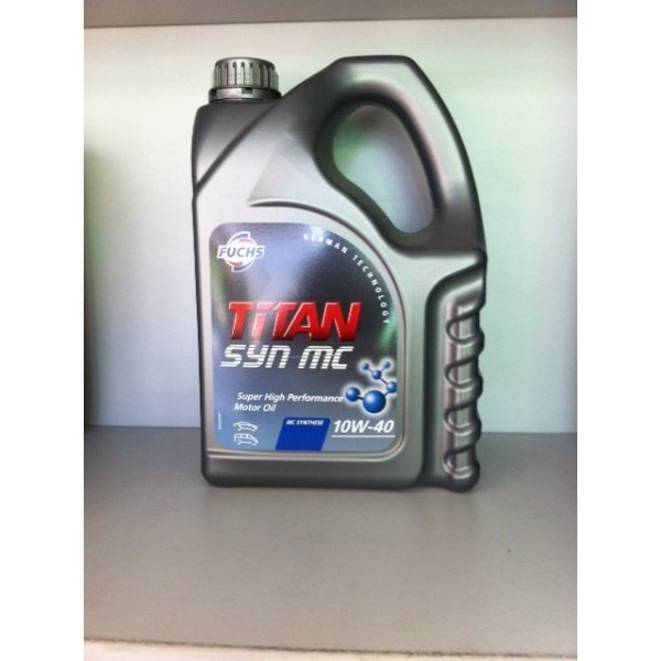 FUCHS TITAN SYN MC SAE 10W-40 - 4 Liter