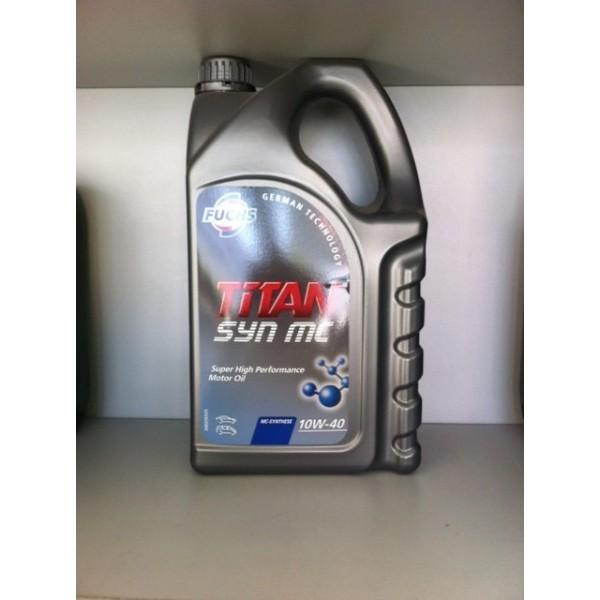 FUCHS TITAN SYN MC SAE 10W-40 - 5 Liter