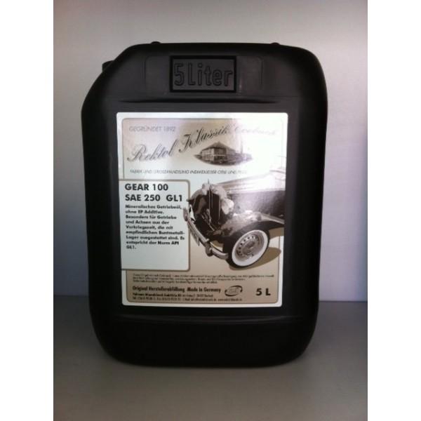 REKTOL GEAR 100 SAE 250 - 5 Liter