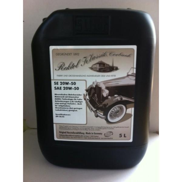 REKTOL SE SAE 20W-50  - 5 Liter