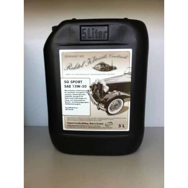 REKTOL SG SPORT SAE 15W-50  - 5 Liter