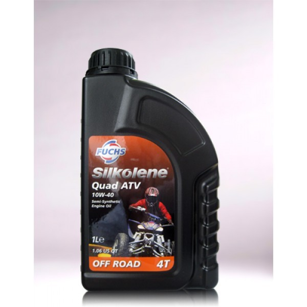 SILKOLENE QUAD ATV SAE 10W-40 - 1 Liter