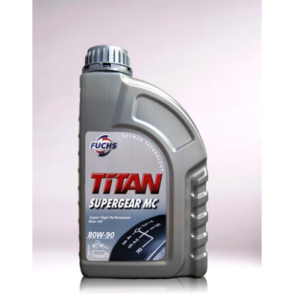 FUCHS TITAN SUPER GEAR MC SAE 80W-90  - 1 Liter