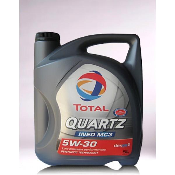 TOTAL QUARTZ INEO MC3 SAE 5W-30 - 5 Liter