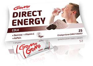 Cola (+ Koffein) - Direct Energy - GoMo Stick 4,5g