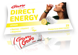 Lemon (+ Magnesium) - Direct Energy - GoMo Stick 4,5g