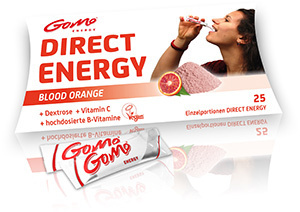 Blood orange (+ Vitamin B)- Direct Energy - GoMo Stick 4,5g