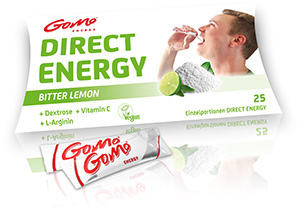 Bitter Lemon (+ L-Arginin) - Direct Energy - GoMo Stick 4,5g