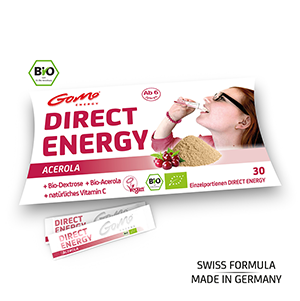 Acerola (Bio Qualität) - Direct Energy - GoMo Stick 4g