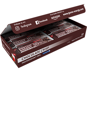 PROTEIN ENERGY - Chocolate Crisp Riegel, 35g