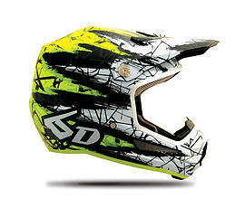 6D Helmet Chaos Yellow - YOUTH