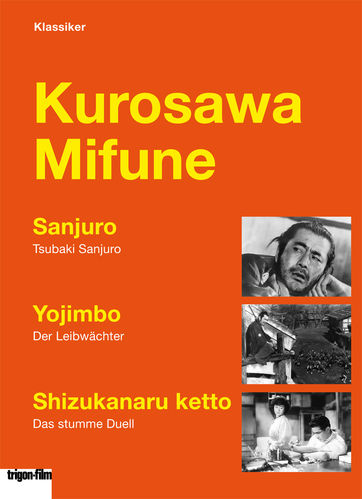 Kurosawa Mifune 3er DVD Box - trigon edition (Dt. Untertitel)