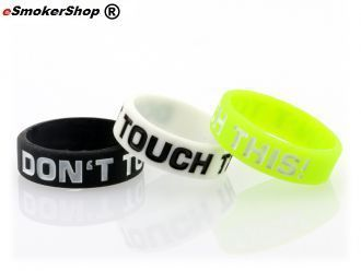 "Rubber Band Schwarz ""Don´t Touch This"""
