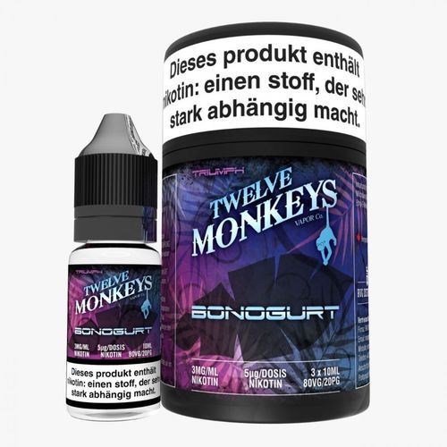 Twelve Monkeys Bonogurt 3 x 10 ml
