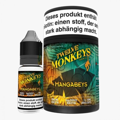 Twelve Monkeys Mangabeys 3 x 10 ml