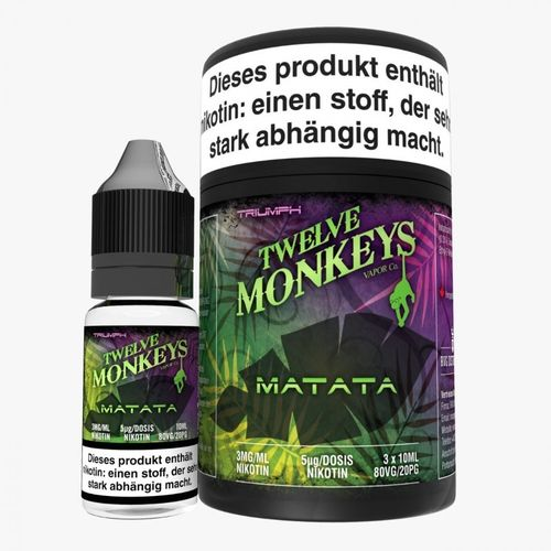 Twelve Monkeys Matata 3 x 10 ml