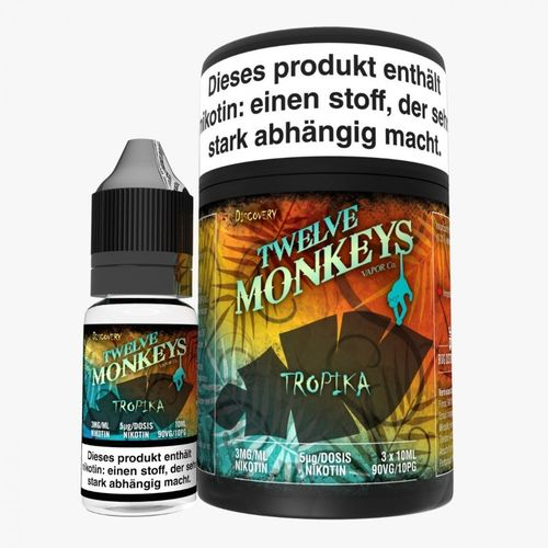 Twelve Monkeys Tropika 3 x 10 ml