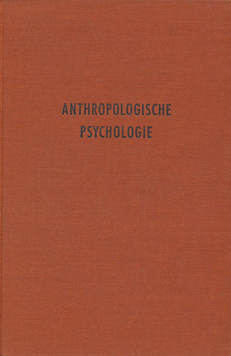 Tumlirz: Anthropologische Psychologie