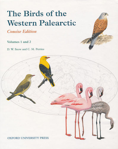 Snow, Perrins: The Birds of the Western Palearctic - Concise Edition - 2 volumes